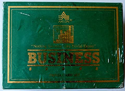 Business Trivia Card Set Companion (Business Trivia)