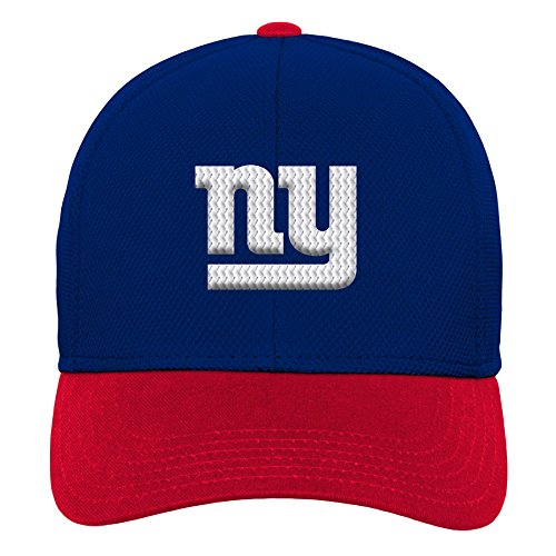 Outerstuff NFL NFL New York Giants Youth Boys Velocity Structured Snap Hat Dark Royal, Youth One Size ()