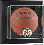 Colorado State Rams Black Framed Wall-Mountable Basketball Display Case - Fanatics Authentic Certified