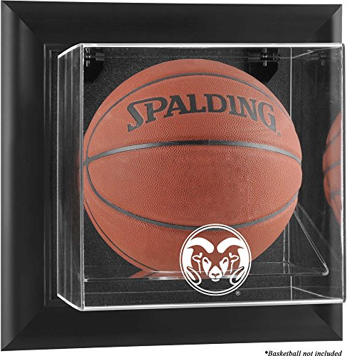 Colorado State Rams Black Framed Wall-Mountable Basketball Display Case - Fanatics Authentic Certified by Sports Memorabilia