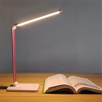 Lámpara De Escritorio Led 5 Modos De Niveles De Color Táctil ...