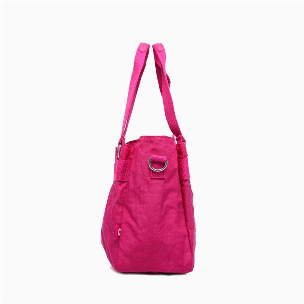 Ybriefbag Unisex Waterproof Nylon Bag Fashionable Lightweight Mens Handbag Multifunctional Mountaineering Travel Male Diagonal Shoulder Bag Vacation