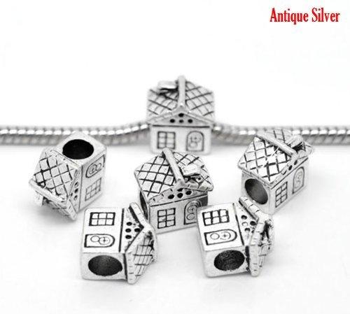 """Sexy paillettes Femme """"Maison Charme européen Charm pour bracelet"""