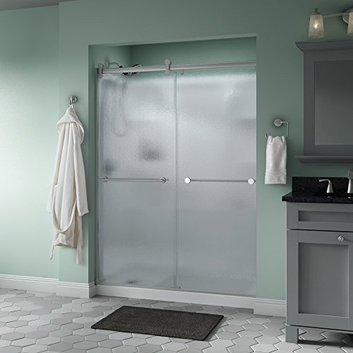 Best Buy! Delta Shower Doors SD3172706 Trinsic 60 x 71 Semi-Frameless Contemporary Sliding Shower ...