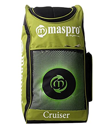 1b099f0b315 Buy Maspro Cruiser Cricket Kit Bag Green Online at Low Prices in India -  Amazon.in