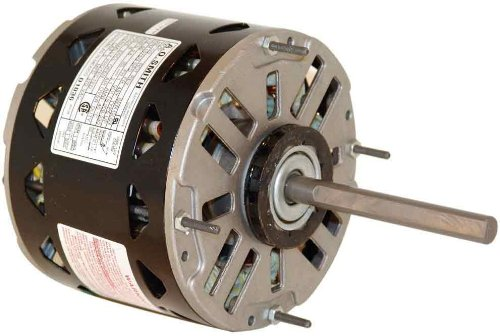 GE Replacement, 5.6-Inch Frame Diameter, 1/2-HP, 1075-RPM, 208-230-Volt, 3.2-Amp, Sleeve Bearing Motor - CENTURY D0006