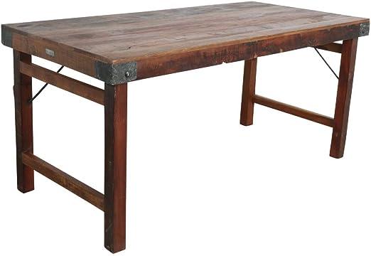 STUFF Loft Vintage Klapptisch Esstisch Tisch aus Altholz