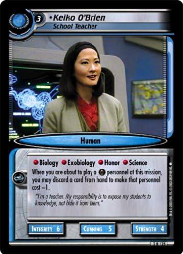Star Trek CCG 2E Energize Keiko O/'Brien School Teacher 2R125
