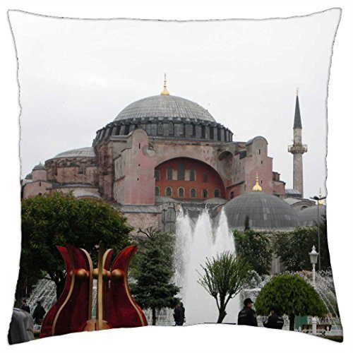 St.Sophia Cathedral - Throw Pillow Cover Case (16
