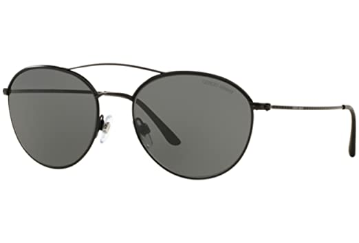 Amazon.com: Giorgio Armani - FRAMES OF LIFE AR 6032J,Round steel ...