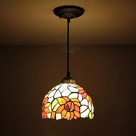 Fanmuran Tiffany libélula lámpara colgante de techo Fixture ...