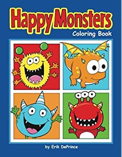 Monster Coloring Book: Monster Coloring Book: Konni Jensen ...