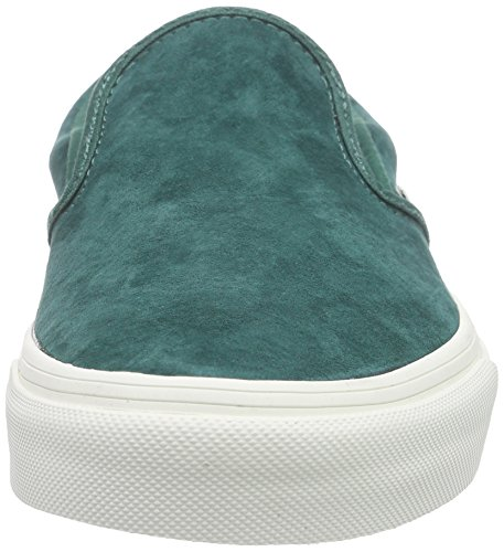 de Blanc Baskets Scotchgard Classic Adulte Blanc Basses Slip Vans Bayberry Mixte on Vert pnvHxq1P