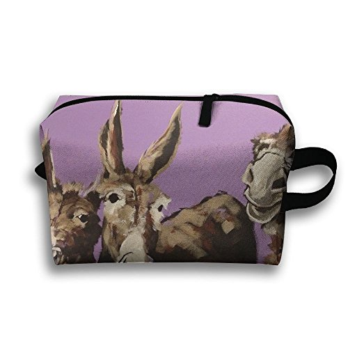 up Organizer Bag Donkey Toiletry Pouch Makeup With Zipper ()