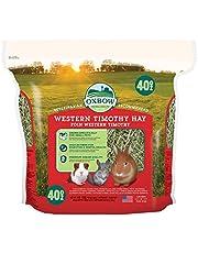 Oxbow O112 Farm-Fresh Hay Western Timothy Hay Food for Small Animals, 40oz
