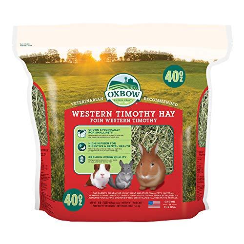 Oxbow Animal Health Western Timothy Hay, 40 Oz