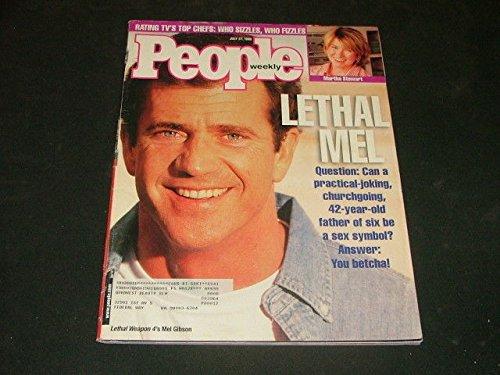 People Weekly July 27 1998 Mel Gibson, Martha Stewart