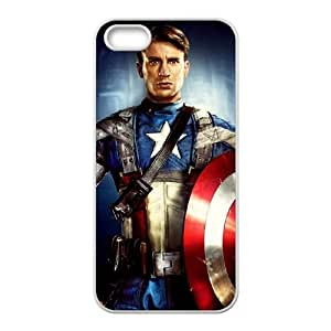 Captain Americ iPhone5s Cell Phone Case White PhoneAccessory LSX_738699