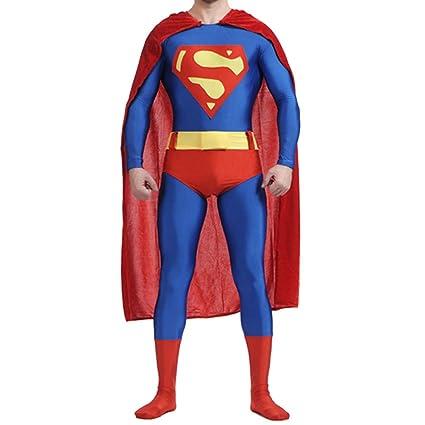 QQWE Superman Cosplay Disfraz Disfraz Disfraz De Halloween ...