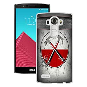 Popular LG G4 Case ,Beautiful And Unique Designed With Pink-Floyd White LG G4 Cover