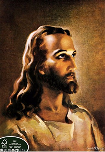 Jigsaw Puzzle 1000 Head of Christ Warner Sallman by KOREA Puzzlelife ()