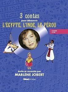 """Afficher """"3 contes pour découvrir l'Egypte, l'Inde, le Pérou"""""""