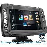 Tuff Protect Anti-glare Screen Protectors Lowrance Elite 7 Ti Fish Finder