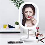 Best Lighted Makeup Mirrors - LED Lighted Makeup Mirror with Lights, [Rechargeable] Portable Review