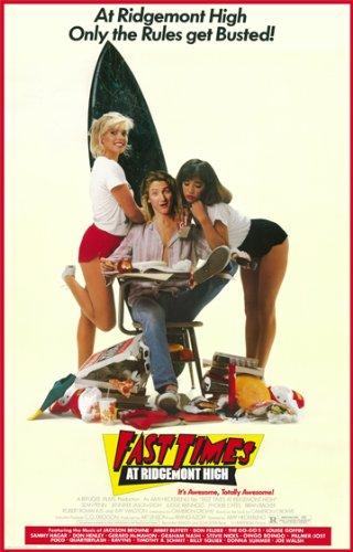 (Hotstuff Fast Times at Ridgemont High Poster Print 1980's Movie Sean Penn Spicoli 28