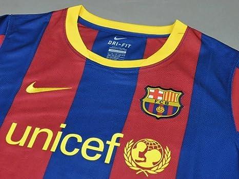 Nike Barcelona Casa Camiseta 2010/11: Amazon.es: Deportes y aire libre