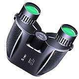 N-LIfe Compact Binoculars For Adults Kids Outdoor Traveling Hunting Bird Watching Binoculars 10x25 Light Weight Waterproof Fogproof Sports Fun Sightseeing