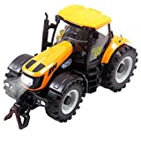 Aivtalk Vehicle Scale Diecast Metal Construction Tractor Vehicle Light Music Cars Model Toys Truck Toys for Boys - Yellow