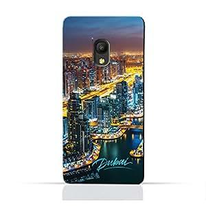 AMC Design Pixi 4 6.0 3GTPU Silicone Protective Case with Dubai Marina Design