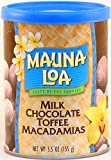 Mauna Loa Milk Chocolate with Toffee and Macadamias, 5.5-Ounce Can (Pack of 3)