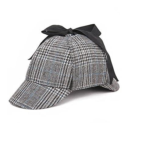 stili di grande varietà all'avanguardia dei tempi ultima vendita Sherlock Holmes Cappello,Unisex Cappello Detective, Deerstalker caccia Drop  orecchie cappello, Gioco di ruolo di COS.
