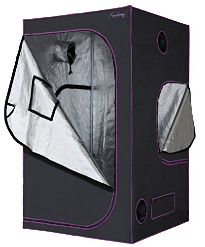 Finnhomy Multiple Sized Mylar Hydroponic Grow Tent 48