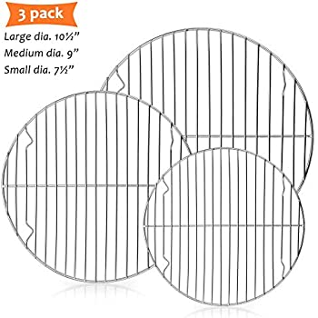 E-far Round Cooling Cooking Racks - Size 7½