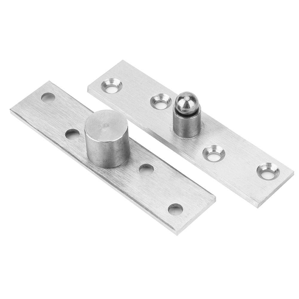 Central Shaft Door Hinge Thick Stainless Steel for Home Revolving Doors Smooth Anti-Corrosion Pivot Hinge