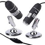 XCSOURCE USB Digital Microscope Endoscope Magnifier 1000X Video Camera 8LED TE103