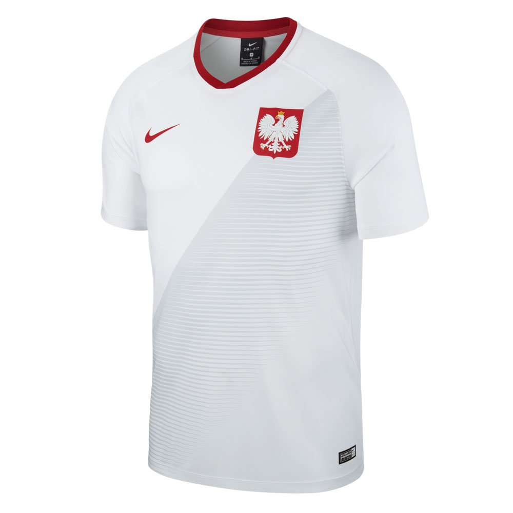 8cfc6538df Nike 2018-2019 Poland Home Supporters Football Soccer T-Shirt:  Amazon.co.uk: Sports & Outdoors