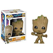 Funko 13230 POP Movies: Guardians of the Galaxy 2 Toddler Groot Toy Figure