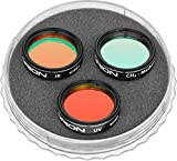 Orion 05452 Specialized 3-Piece Planetary Imaging Filter Set 1.25-Inch (Multi-colored)