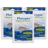 Platypus, Orthodontic Flosser, Floss for Braces, 30 Count, Pack of 3