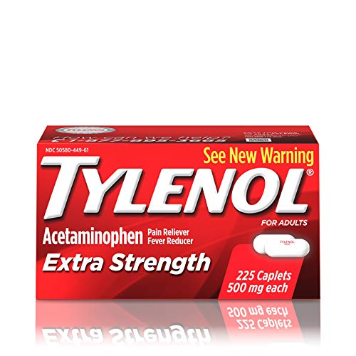 Tylenol Extra Strength 225 Caplets [Health and Beauty] ()