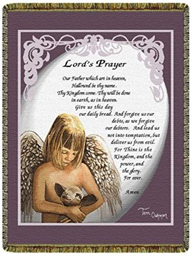 Simply Home Lord's Prayer Tapestry 50