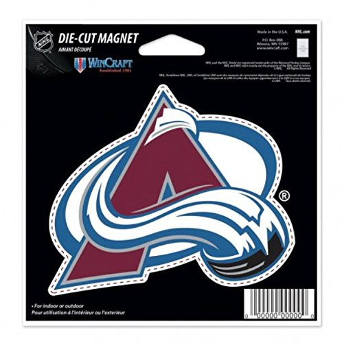 WinCraft NHL Colorado Avalanche Color 4.5 x 6 Die Cut - Magnets Nhl