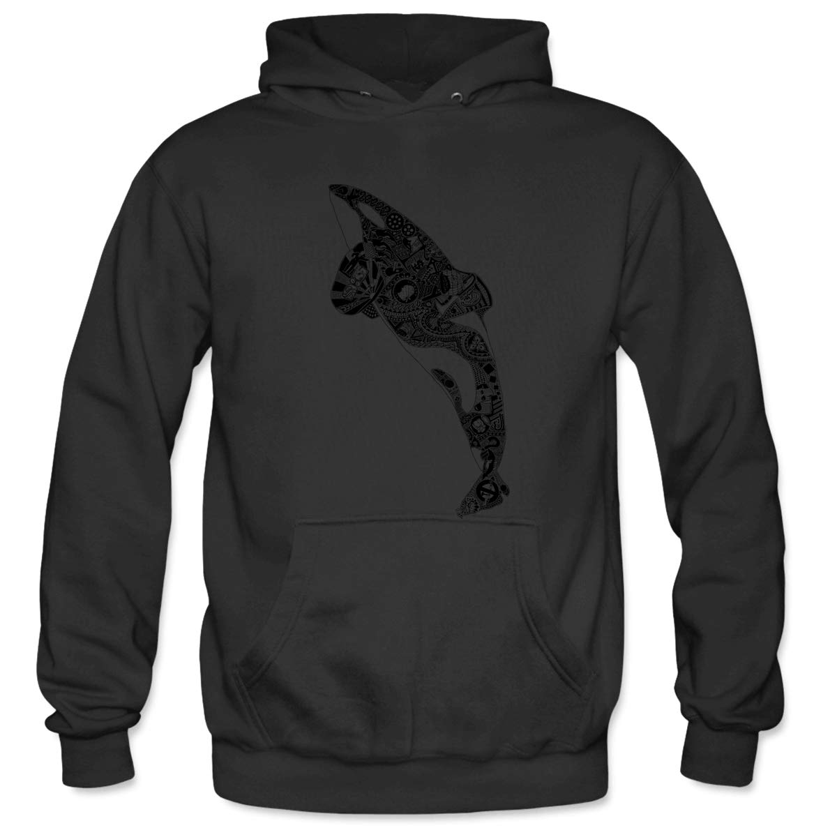 Mens Captivity Kills Hooded Sweatshirt Funny Printed Pullover Hoodies Classic Long Sleeve T Shirt Tops