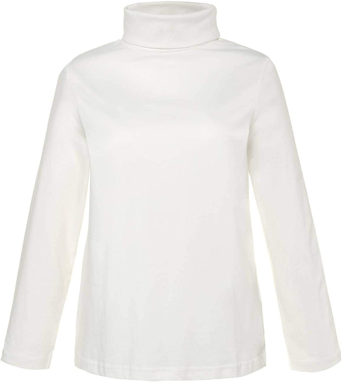 ULLA POPKEN Shirtrolli Basic Dolcevita Donna