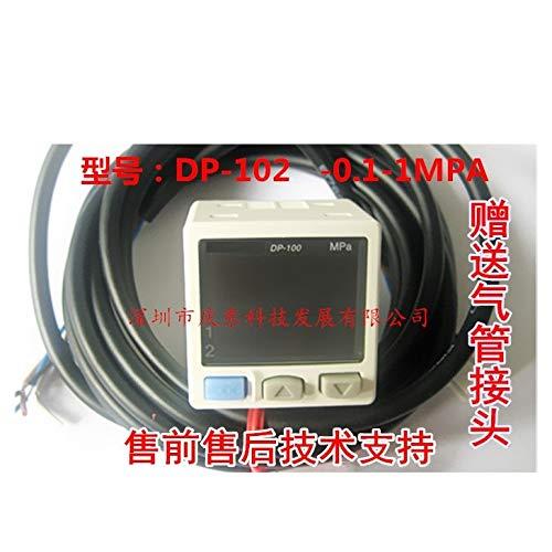 Lysee DP-102 Digital Air Pressure Switch Meter Sensor DP-002 Sensor - (Color: DP-001) (Air 001 Pressure Switch)