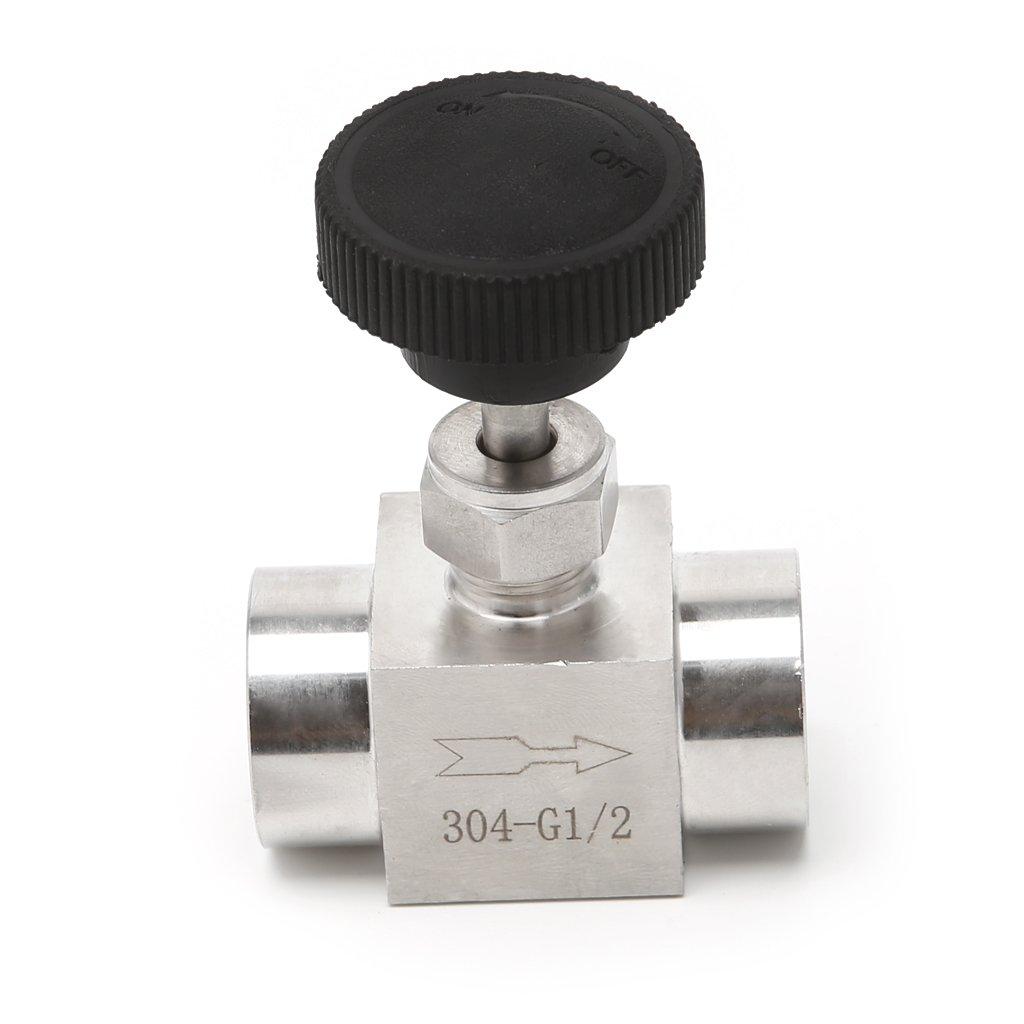 controllo del flusso Valvola ad ago con filettatura femmina in acciaio inox 304 915 PSI Erisl